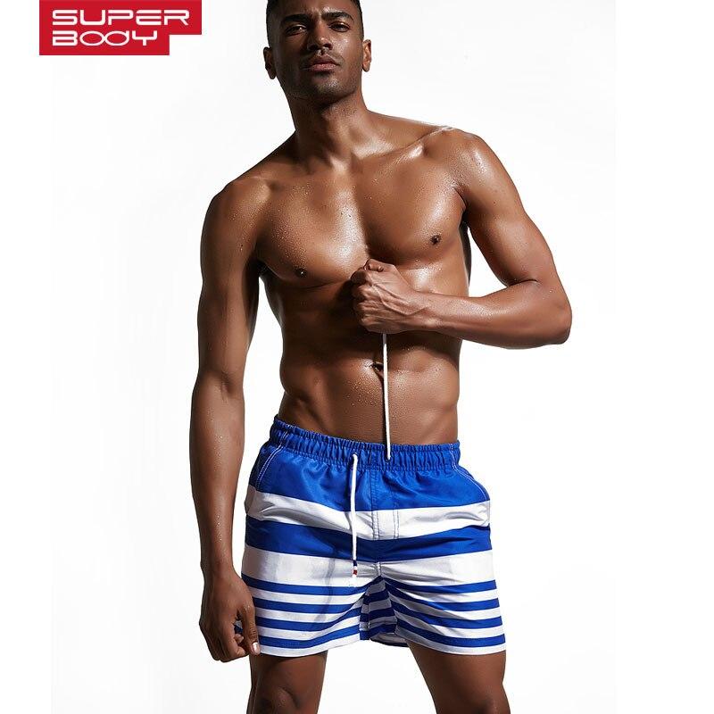2018 Mens Clothing Beach Shorts Quick Dry Man Board Boxers Anti-Sweat Cool Guy Summer Board Shorts Casual Mans Short pants