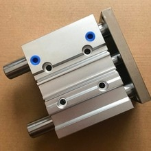 Taille dalésage 50mm * 175mm course Guide Compact cylindre pneumatique/cylindre dair série MGPM