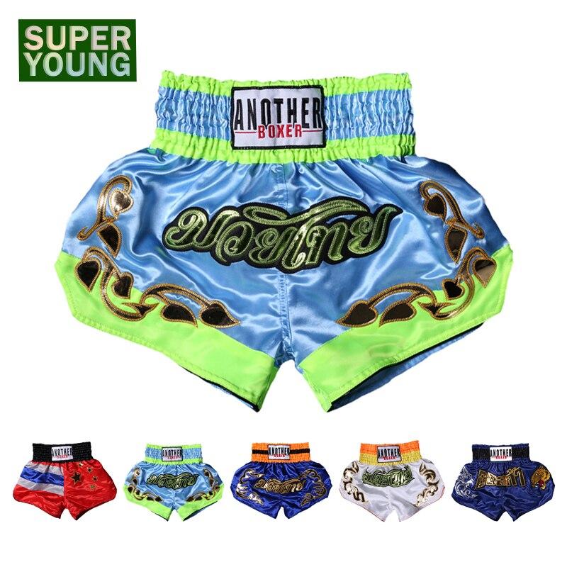 Mma Muay Thai hombres niños Bjj Boxeo pantalones cortos Niño Kick Boxing ropa niños Kickbox lucha entrenamiento Sanda gimnasio bañadores Pantalones