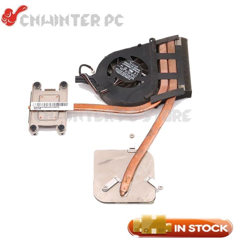Radiador NOKOTION para toshiba satellite L750D L750 L755D Laptop CPU GPU ventilador disipador de calor de refrigeración DA0BLFMB6E0 probado por completo