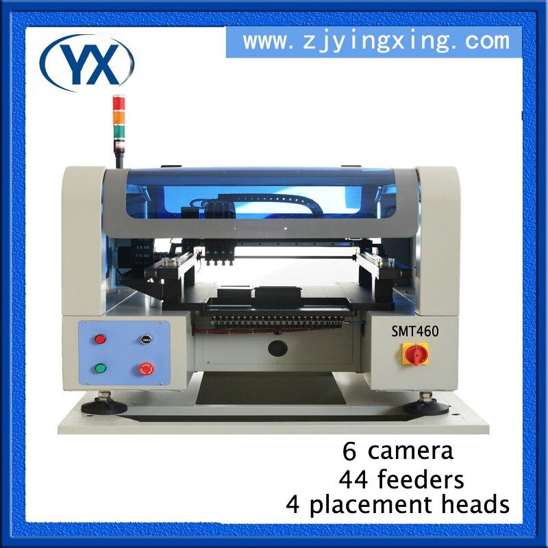 Máquina de produção conduzida do diodo emissor de luz da máquina do conjunto de smt do bom preço com câmera do alto-pixel e servo motor