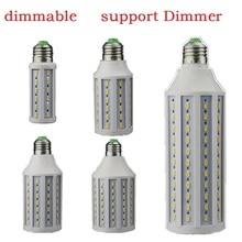 LED Dimmen Licht E26 E27 bombillas 12 W 15 W 25 W 30 W 40 W dimbare lampadas 110 V 220 V Gloeilamp led Kaars Verlichting Ondersteuning Dimmer