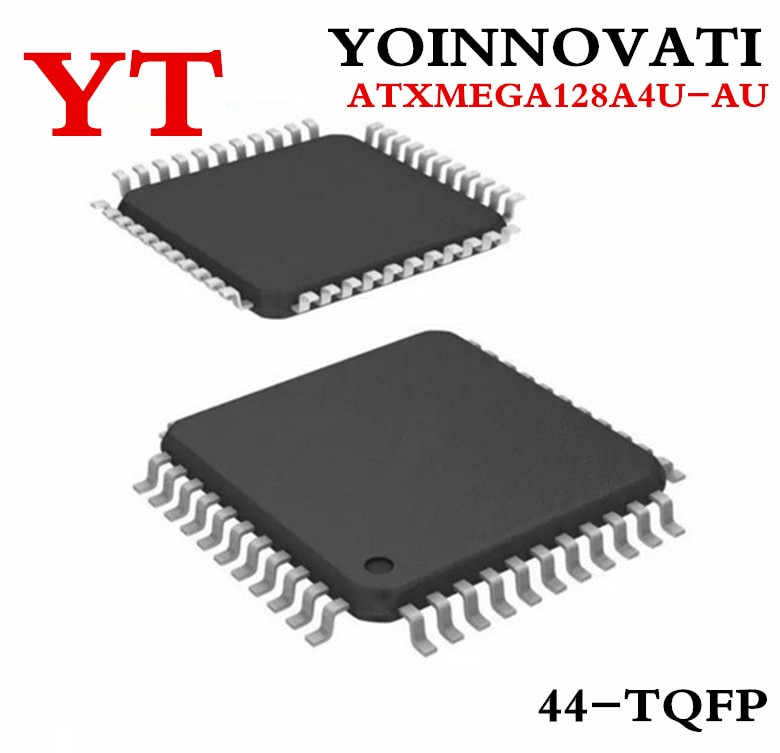 10 قطعة/الوحدة ATXMEGA128A4U-AU ATXMEGA128A4U 44-TQFP IC