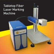 China Hoge Snelheid Industrie Desktop 20 W Lasermarkeermachine. Fiber Laser Metalen Ets Machine met lange levensduur