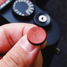 16MM Rosewood Wooden Wood Soft Shutter Release Button For Leica M10 M10-P Fujifilm X100F XE3 XT2 XT30 XT20 FujiFilm XT20 X T2