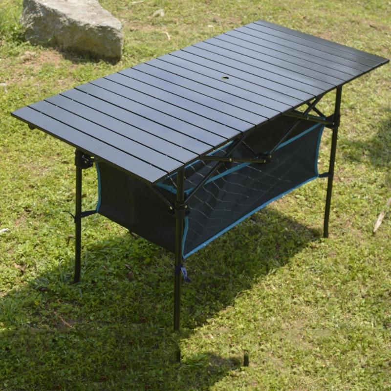 في الهواء الطلق طاولة قابلة للطي كرسي التخييم سبائك الألومنيوم نزهة الجدول مقاوم للماء دائم طاولة قابلة للطي مكتب ل 95*55*68 سنتيمتر 70*70 سنتيمتر