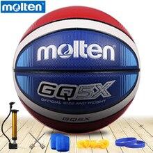 original molten basketball ball GQ5XNEW Brand High Quality Genuine Molten PU Material Official Size6/5 Basketball