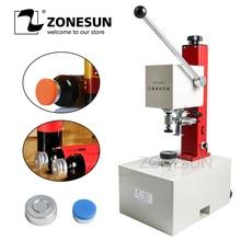 Machine de capsulage électrique de Solution liquide orale de parfum de sertisseur dantibiotiques de bouteille de pénicilline de ZONESUN 10-35mm
