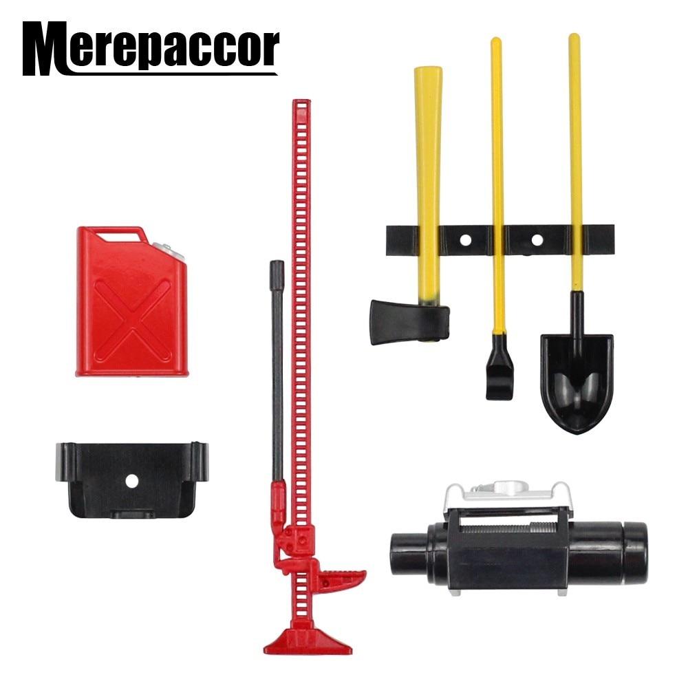 Аксессуары для радиоуправляемого гусеничного 1:10, набор инструментов для мини-лебедки с топливным баком, набор инструментов для осевого SCX10 tiiya CC01 D90 D110, запчасти для грузовиков