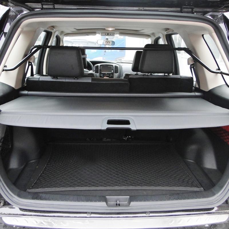 Para Ford Maverick 2,3/3,0 cubierta cortina tronco partición cortina partición bastidores traseros accesorios de estilo de coche