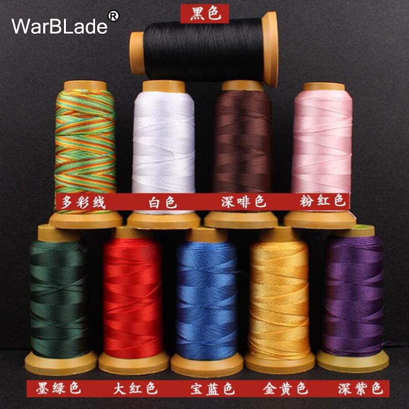 Нейлоновый шнур WarBLade, для шитья нитей, 0,2 мм, 0,4 мм, 0,6 мм, 0,8 мм, 1 мм