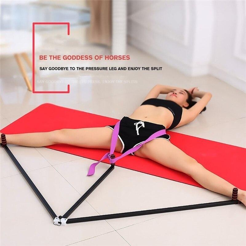 Camilla de pierna de hierro ajustable 3 Bar piernas extensión Split máquina flexibilidad herramienta de entrenamiento para el equilibrio de Ballet equipo de Fitness