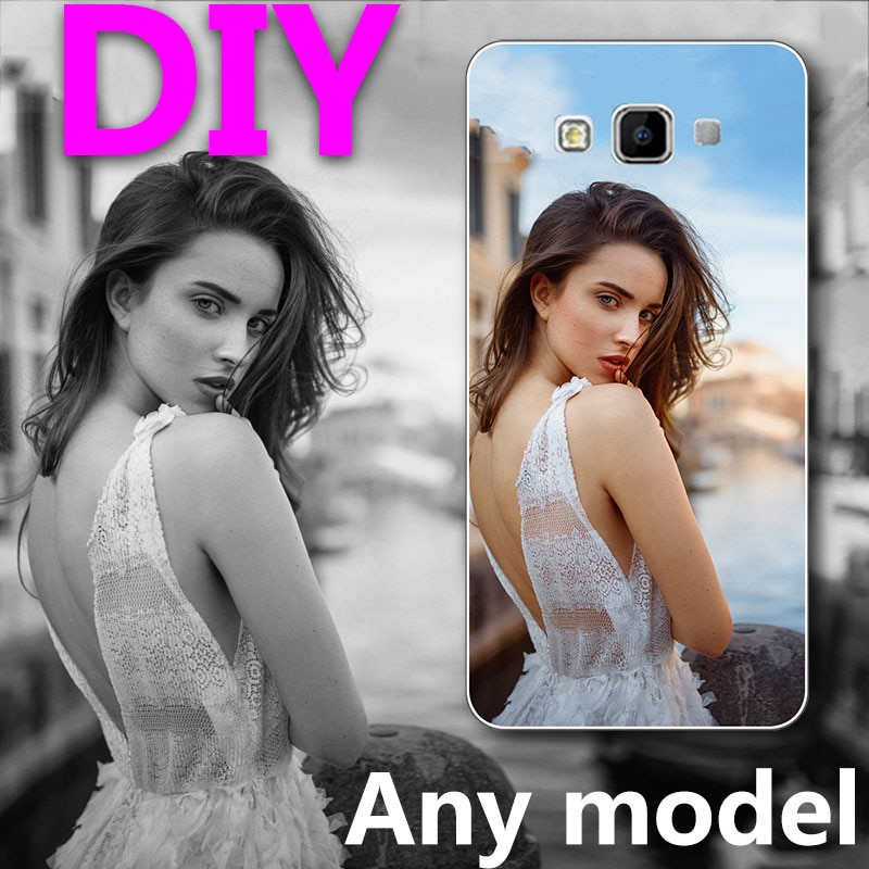 Custom DIY LOGO Design Photo Case for Samsung Galaxy A7 2015 A7 A700 A7000 Silicone or hard Back Cov