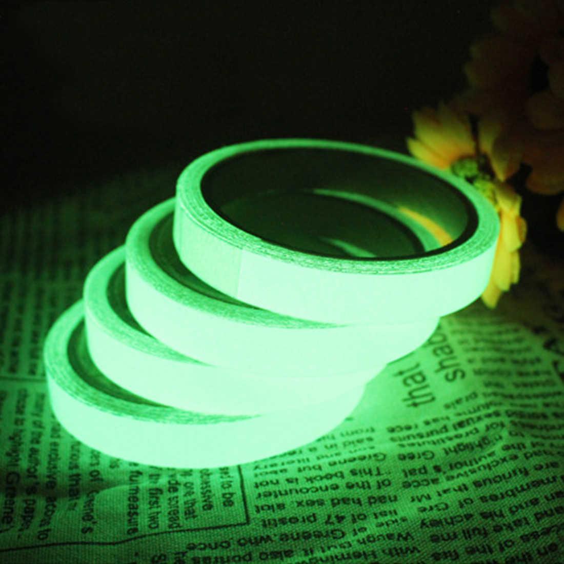 New Luminous Film Fluorescence Self Illuminating Tape Glow In The Dark Warning Ribbon Night Vision Car Stickers Car Styling Car Stickers Aliexpress