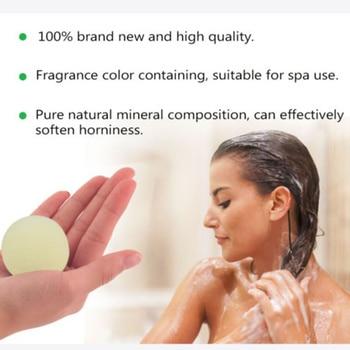 1pc 40g Handmade Bomb Baths Aromatherapy Relaxation Moisturizing Fizzies Spa Bomb Body Cleaner Bath Bomb Mold bubble Salt Ball