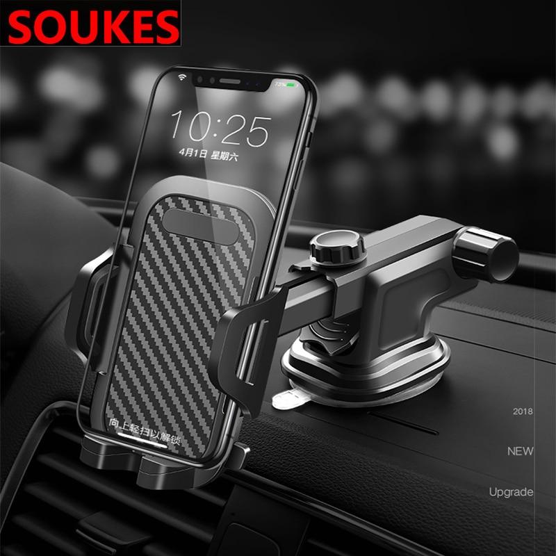 Car Telescopic Suction Cup Phone Navigator Holder For Audi A3 A4 B8 B6 A6 C6 A5 B7 Q5 C5 8P Q7 TT C7 8V A1 Q3 S3 A7 B9 8L A8 80