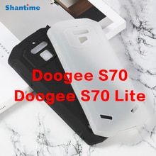 Pour Doogee S70 Lite Gel pouding Silicone coque arrière de protection pour Doogee S70 étui souple en TPU