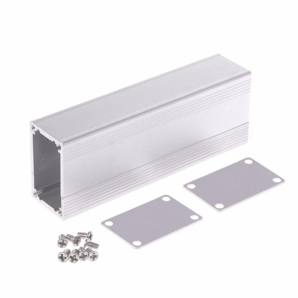 Caja de Proyecto de aluminio caja de cierre electrónico carcasa de instrumentos de bricolaje 80x40x25mm caja de empalme