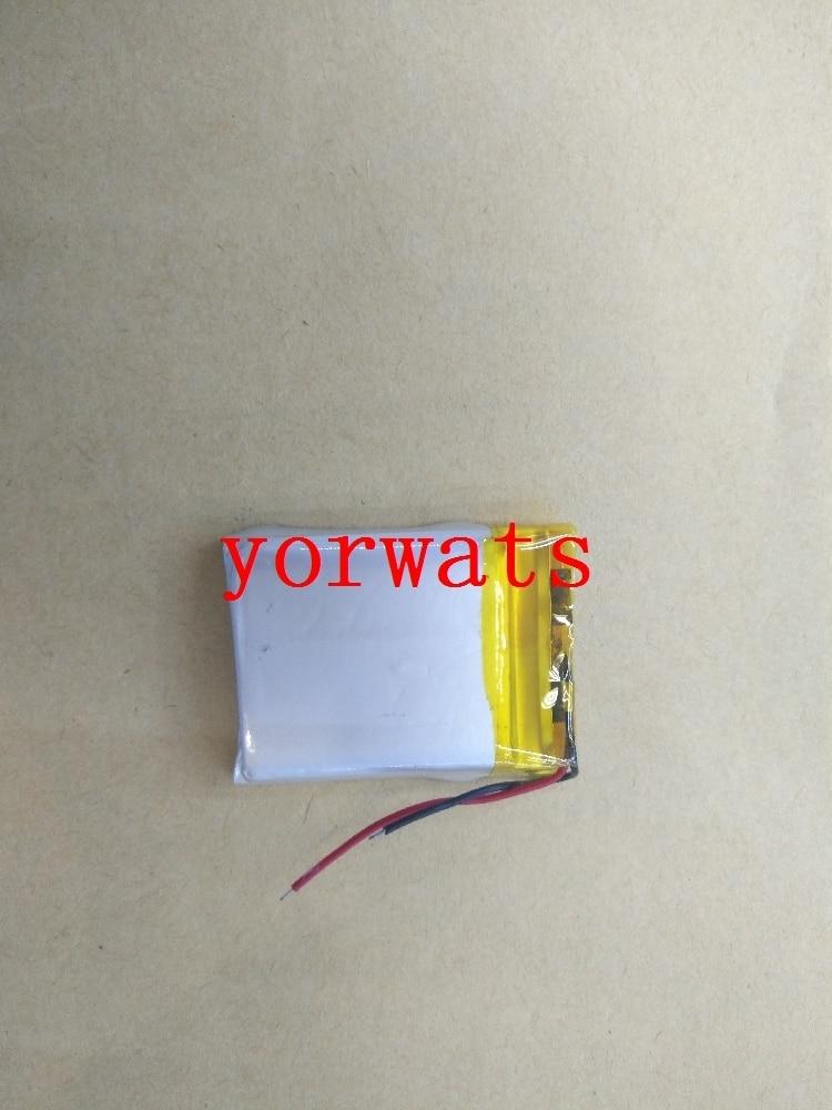 Nueva batería de polímero de litio recargable 3,7 V 602535, venta directa 062535, pequeño portátil de audio MP4
