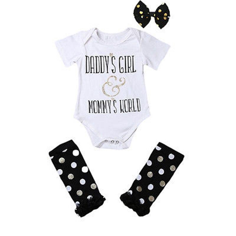 Новый летний повседневный комбинезон для новорожденных девочек DADYS с надписью