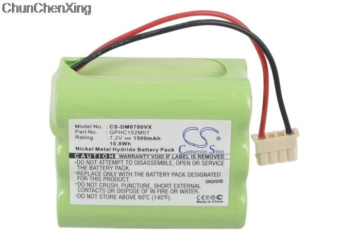 Cameron Sino 1500mAh batería de la batería GPHC152M07 de suciedad diablo EVO M678 para menta 4200,4205 limpiador de pisos automático 4000 Plus 5000