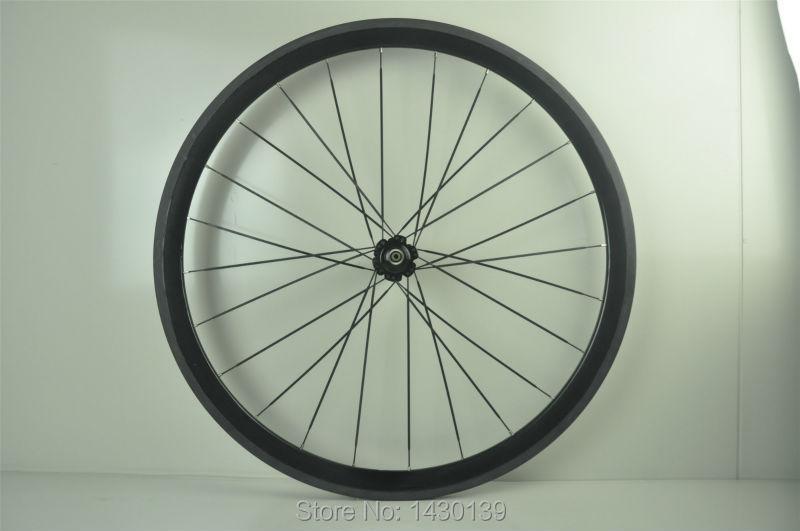1 piezas nueva 700C 38mm llantas tubulares pista de carretera engranaje fijo bicicleta 3 K UD 12 K carbono completo juego de ruedas para bicicleta, radios aero, brochetas envío gratis