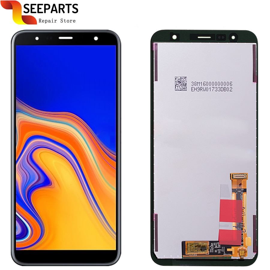 لسامسونج غالاكسي J6 + 2018 J610 SM-J610F J610FN عرض LCD استبدال الشاشة لسامسونج J6 زائد SM-J610F LCD عرض الشاشة
