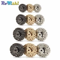 3pcspack metal snap fasteners clasps button for handbag purse wallet craft suit buckles bags parts accessories