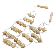 Outils de Massage du dos de haute qualité pour hommes femmes roue en bois naturel taille rouleau de soins personnels du corps santé Masager FB