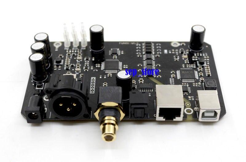 Montado XU208 XMOS USB de Audio de la interfaz Digital XLR/AES/fibra/coaxial