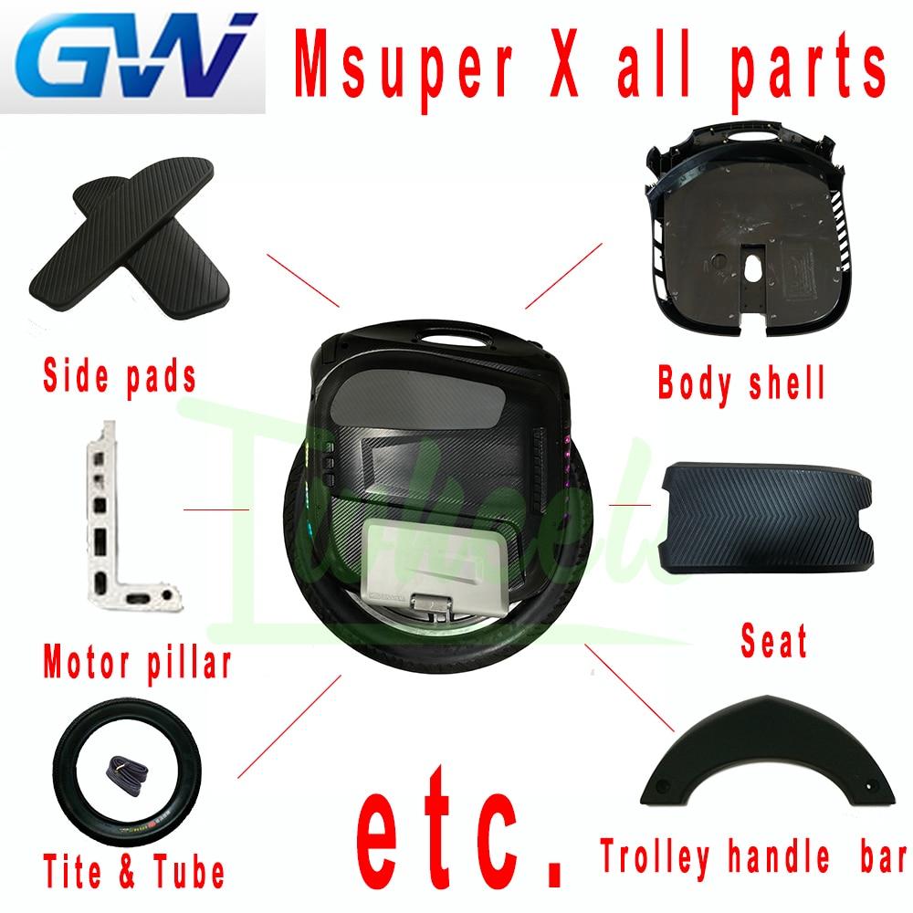 Originele Gotway Msuper X Alle Onderdelen Reparatie Onderdelen Elektrische Eenwieler Onderdelen