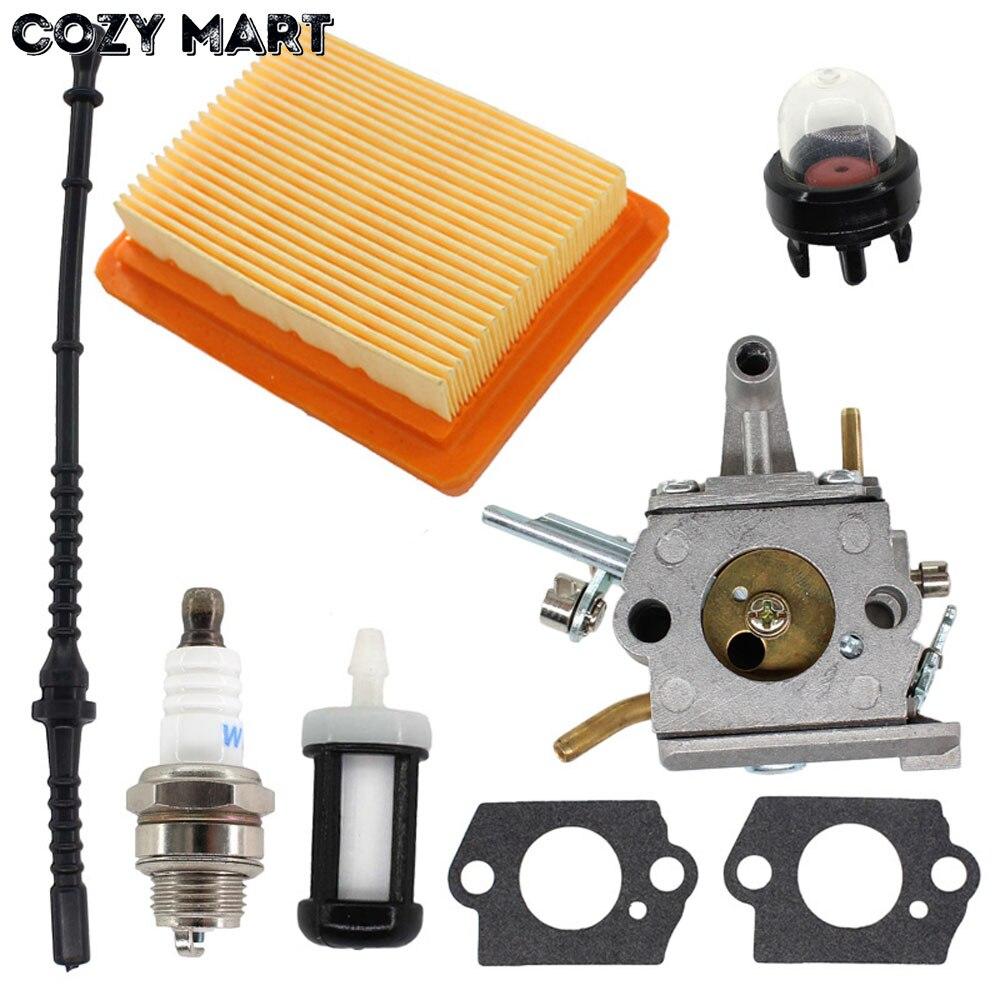 Carburetor Air Fuel Filter Line For ST FS400 FS450 FS480 SP400 Zama C1Q-S34H Carb 41281200651
