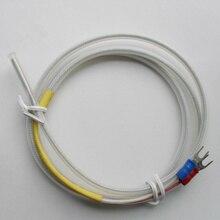 1 mètre pt100 bouclier thermocouple fil système à trois fils fil fil résistance à lacide-base propriétés fil thermocouple