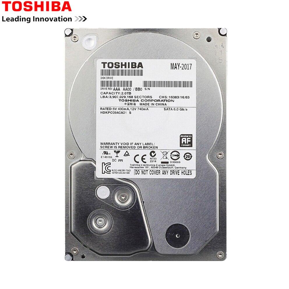 "TOSHIBA HDD 3,5 1TB de Disco Duro SATA de 1000 GB 1 T Disco Duro Interno HD Interno HDD 7200 RMP 32 M de 3,5 ""SATA 3 para la computadora de la PC"