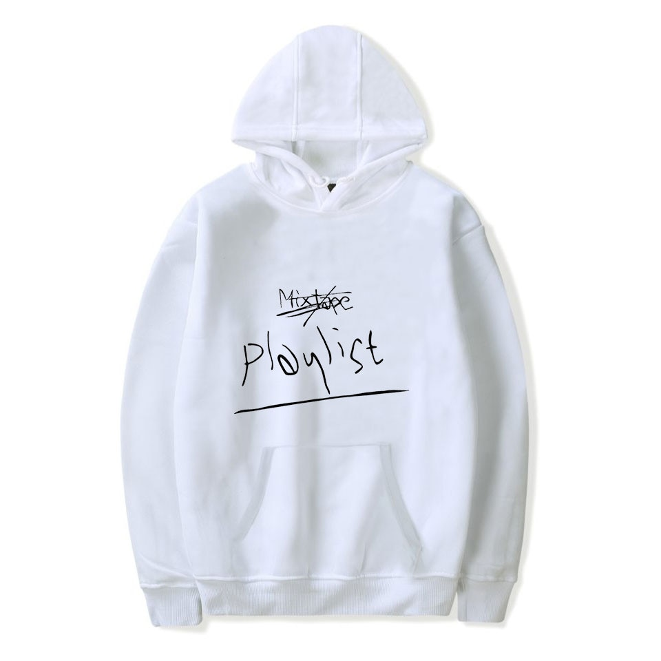 B RM Mono Kpop Printed Hoodies Women/Men Long Sleeve Fashion Hooded Sweatshirts 2018 Casual Hot Sale Clothes Plus Size 4XL