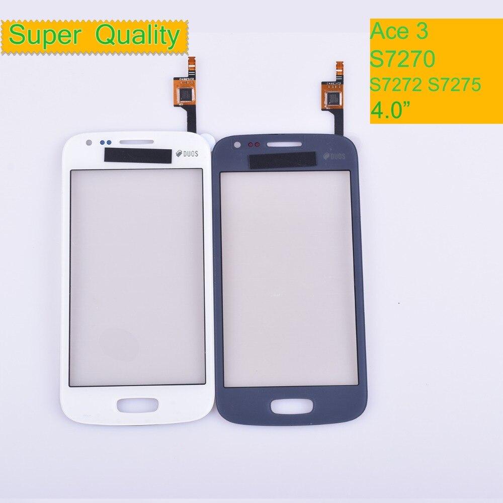 Para Samsung Galaxy Ace 3 S7270 S7272 S7275 GT-S7272 pantalla táctil Panel...