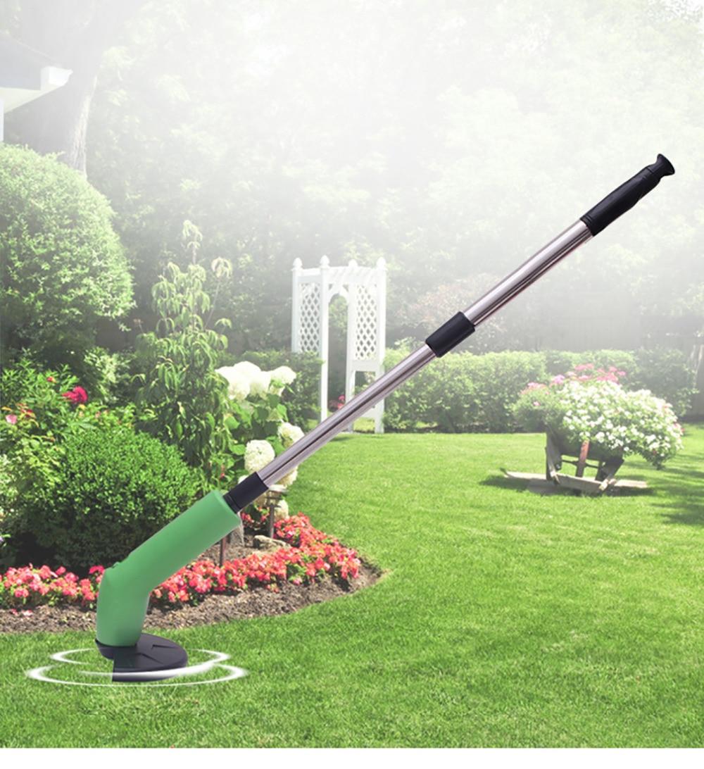 Портативная электрическая газонокосилка для дома, газонокосилка для резки, триммер для травы, садовые инструменты, косилка, газонокосилка