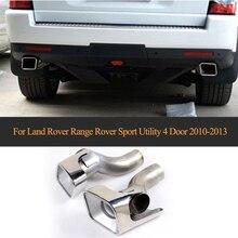 Egzoz egzoz borusu Uç Borular Otomatik Susturucu için Land Rover Range Rover Sport Utility 4 Kapı 2010-2013