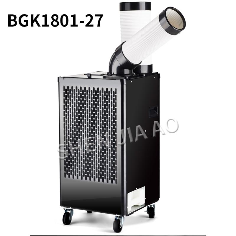 BG1801-27 مكيف الهواء التجارية الصناعية موبايل كومبرسور لتكييف السيارة مبرد الهواء نوع واحد الباردة المتكاملة