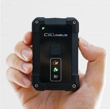 New Columbus P-1 P1 Professionale GPS Data Logger IP66 impermeabile 10 hz built-in motion sensor MTK 3339 chipset 66- canali WGS-84