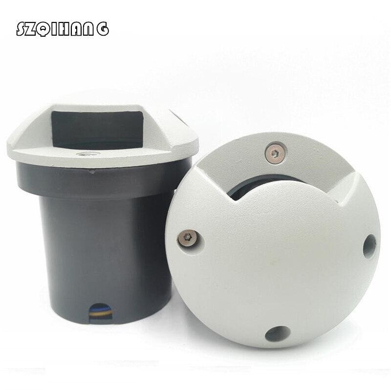Белый корпус 3 Вт 5 IP68 наружный углубленный садовый светильник для дорожек