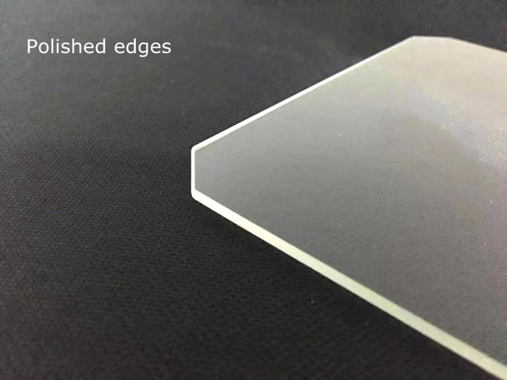 Geeetech ANYCUBIC Anet 220x220x3mm impresora 3d Placa de construcción de vidrio borosilicato crear más Wanhao i3