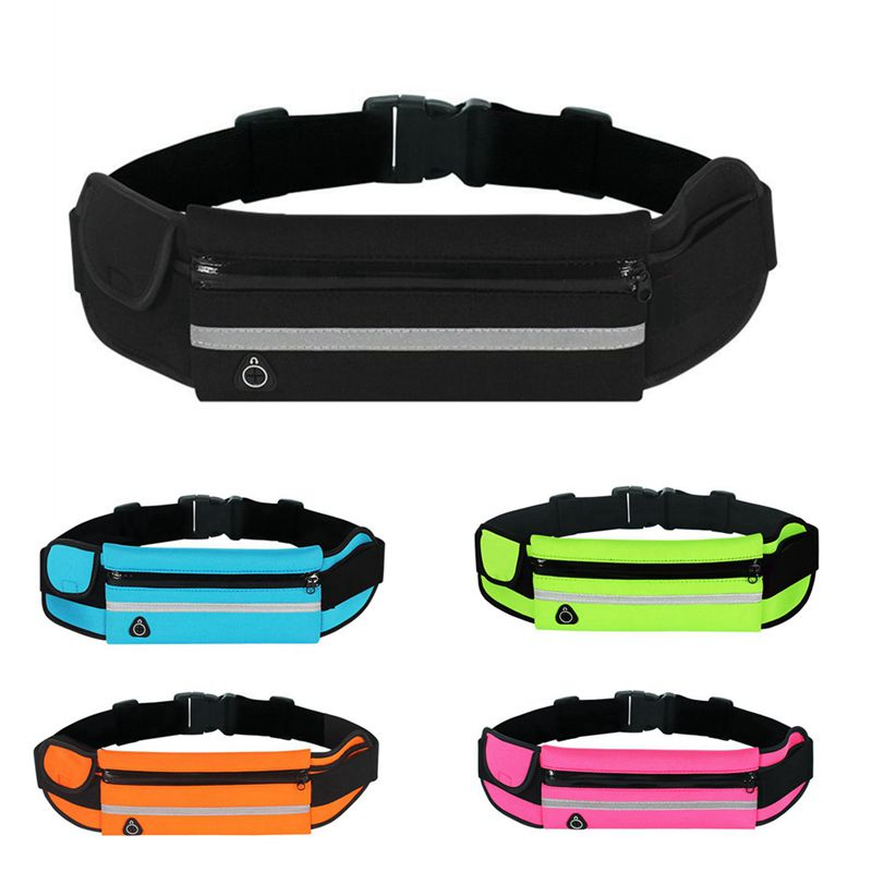 Waterproof Running Waist Bag Outdoor Sports Running Belt Bags Women for Iphone Phone Jogging Bags fo