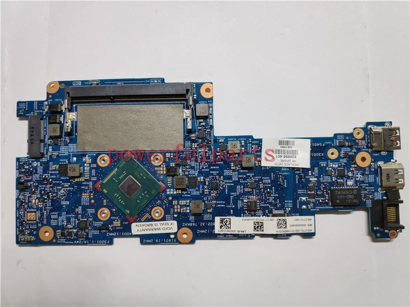 Placa base para ordenador portátil HP X360 11-k120nr 11-k 828895-601 828895-501 828895-001 N3700 CPU totalmente probada