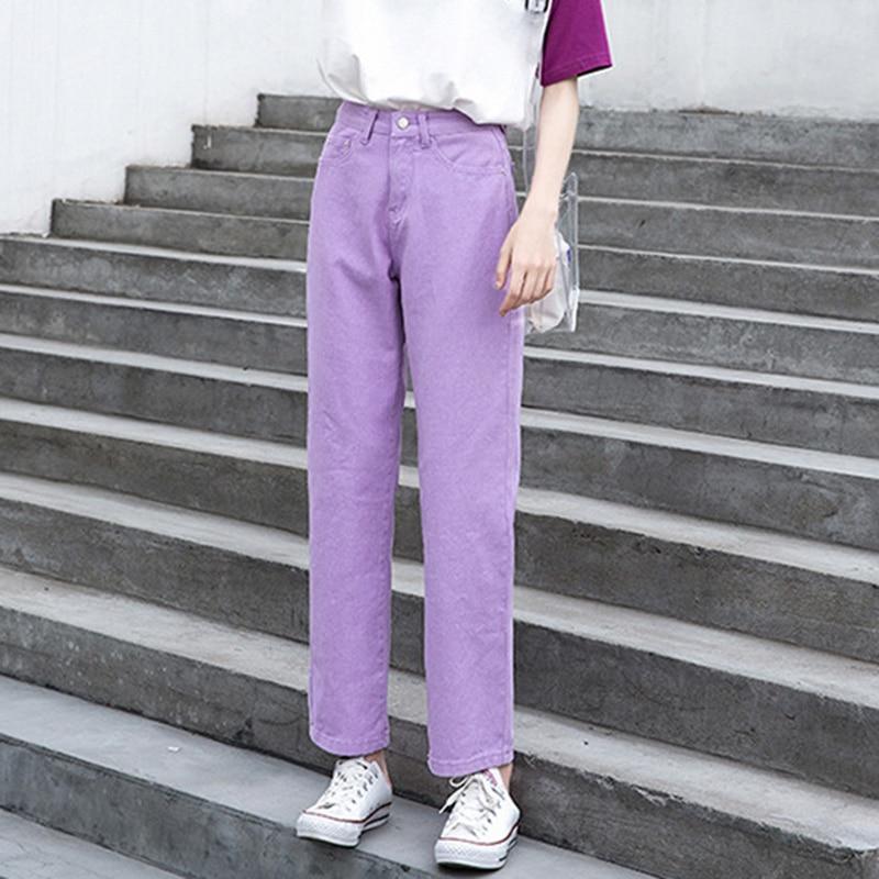 Jean mujer mamá jeans pantalones novio jeans para mujer con cintura alta talla grande push up señoras jeans 2xl 2019