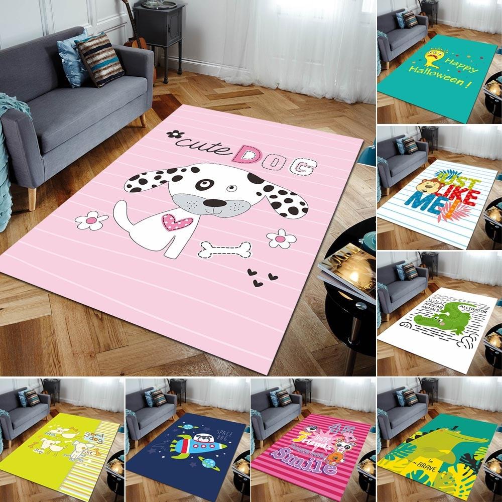 Crianças tapete tapetes crianças jogar esteira do quarto bebê crawl almofada 200*300cm tamanho grande macio tapetes crianças brinquedos tapete 3d desenhos animados impresso tapete
