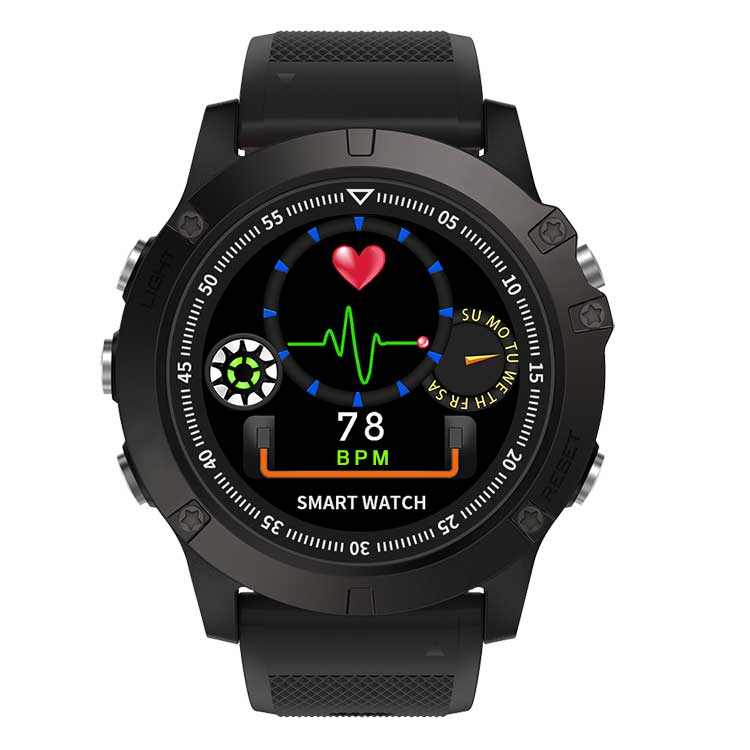 Mars Smart Armband Band Hartslagmeter Bloeddruk Mannen IP68 Fitness Tracker Bericht Oproep Herinnering Wrisatband Smart Horloge