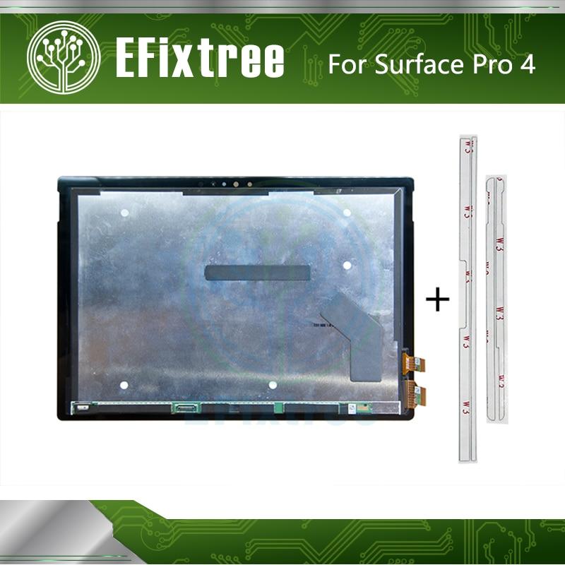 Surface Pro 4 LCD сборка для Microsoft (1724) LTN123YL01-006 экран с цифровым дисплеем переднее стекло