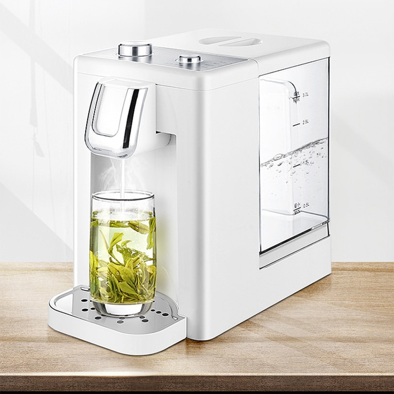 Household Electric Kettle Desktop Instant Hot Water Drinking Tea Bar Hot Water Dispenser Thermo Pot Mini Water Heating Machine