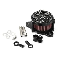 black cnc motorcycle air cleaner intake filter system kit for harley sportster iron xl 8831200 2004 2015 custom